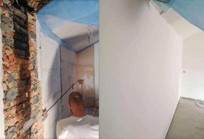 Maling af væg og loft